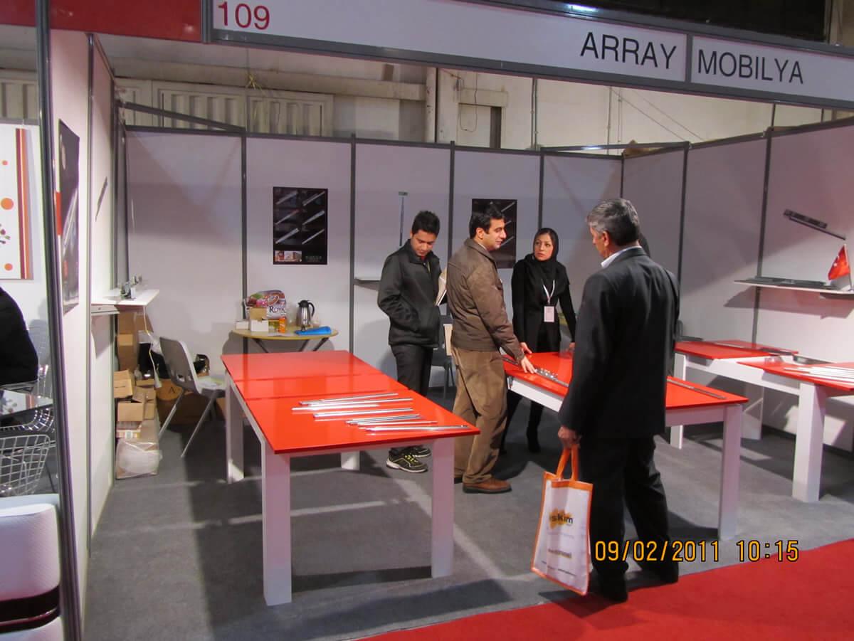 شاركنا في معرض إيران 2011.