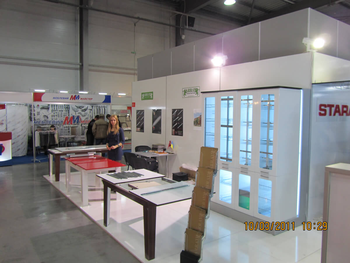 KIEW-UKRAINE Messe 2011