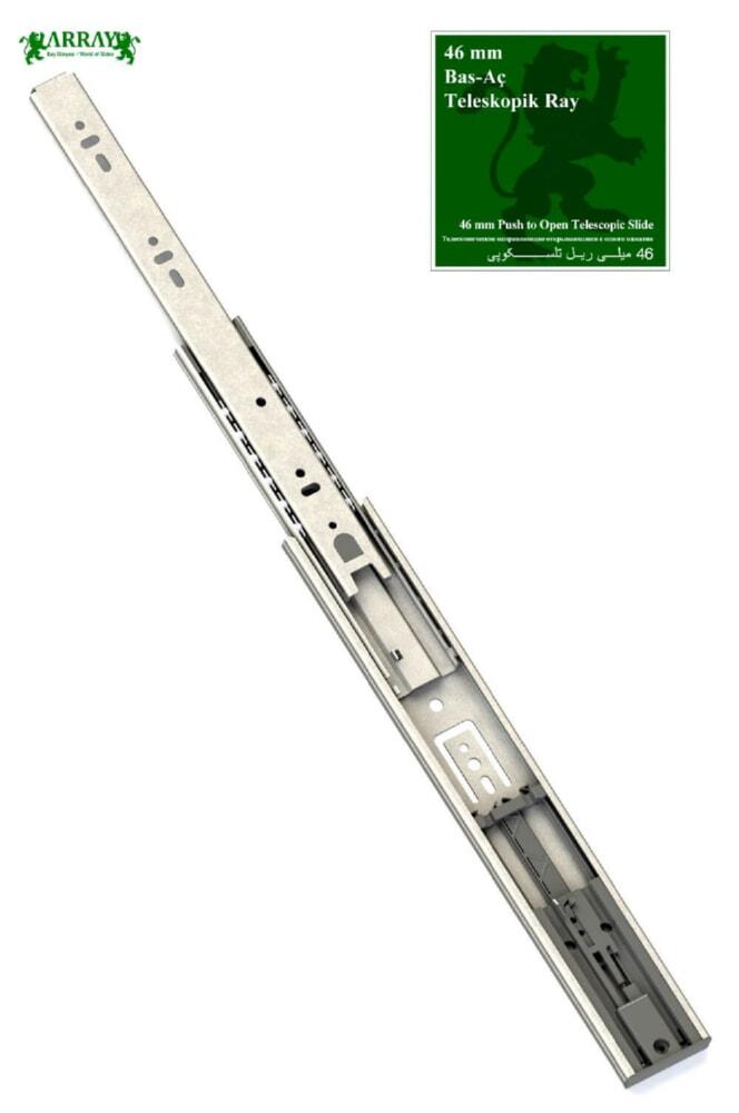 46 MM Drucköffner Teleskopschiene