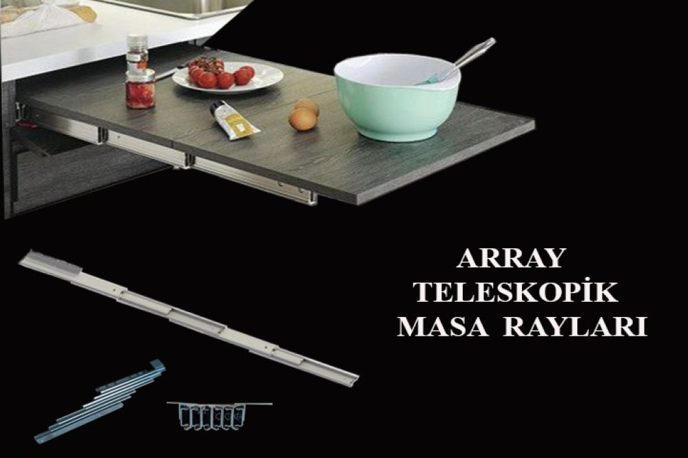 سكة طاولة تلسكوبية